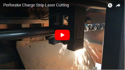 Perforator Charge Strip Laser Cutting